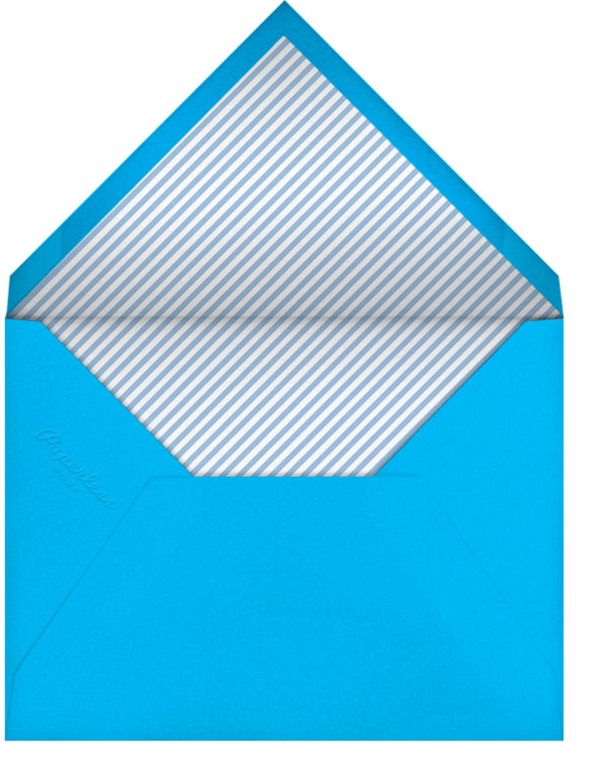 Papel Picado (Photo) - Capri - Paperless Post - Bachelorette party - envelope back