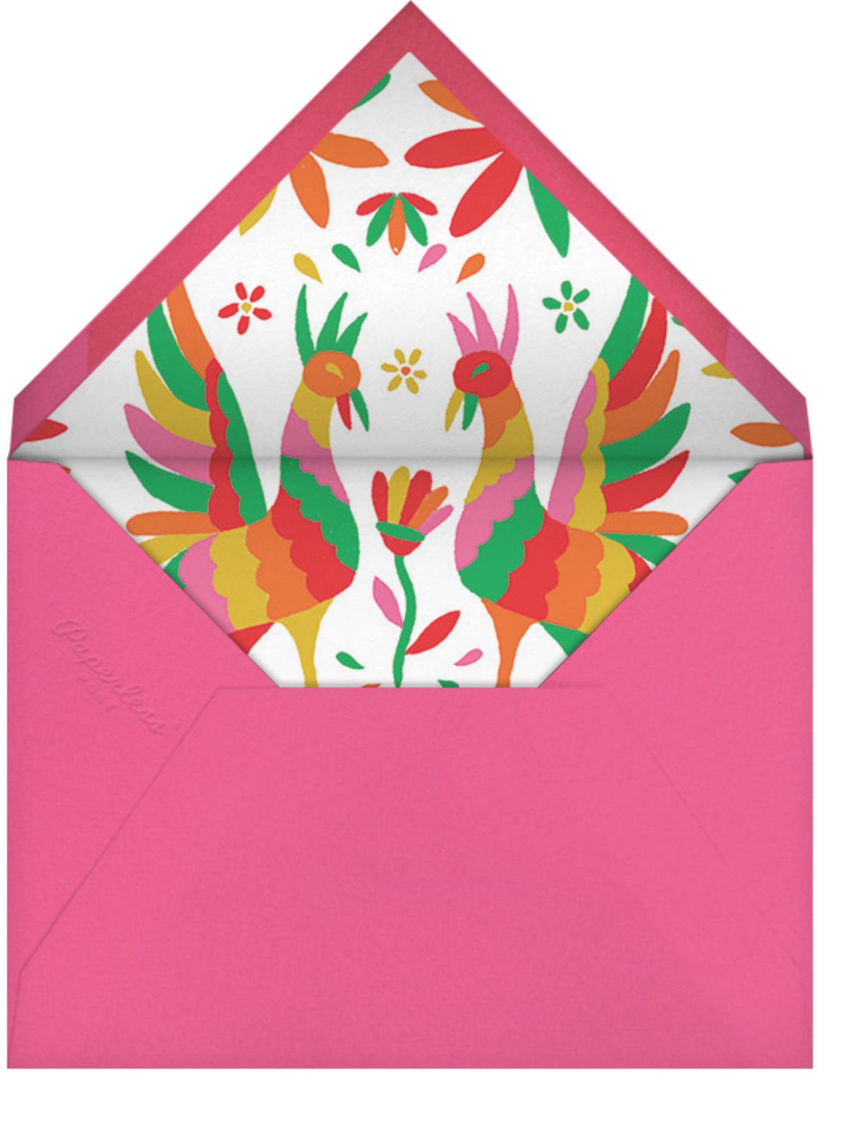 Hora de Cóctel - Paperless Post - Adult birthday - envelope back
