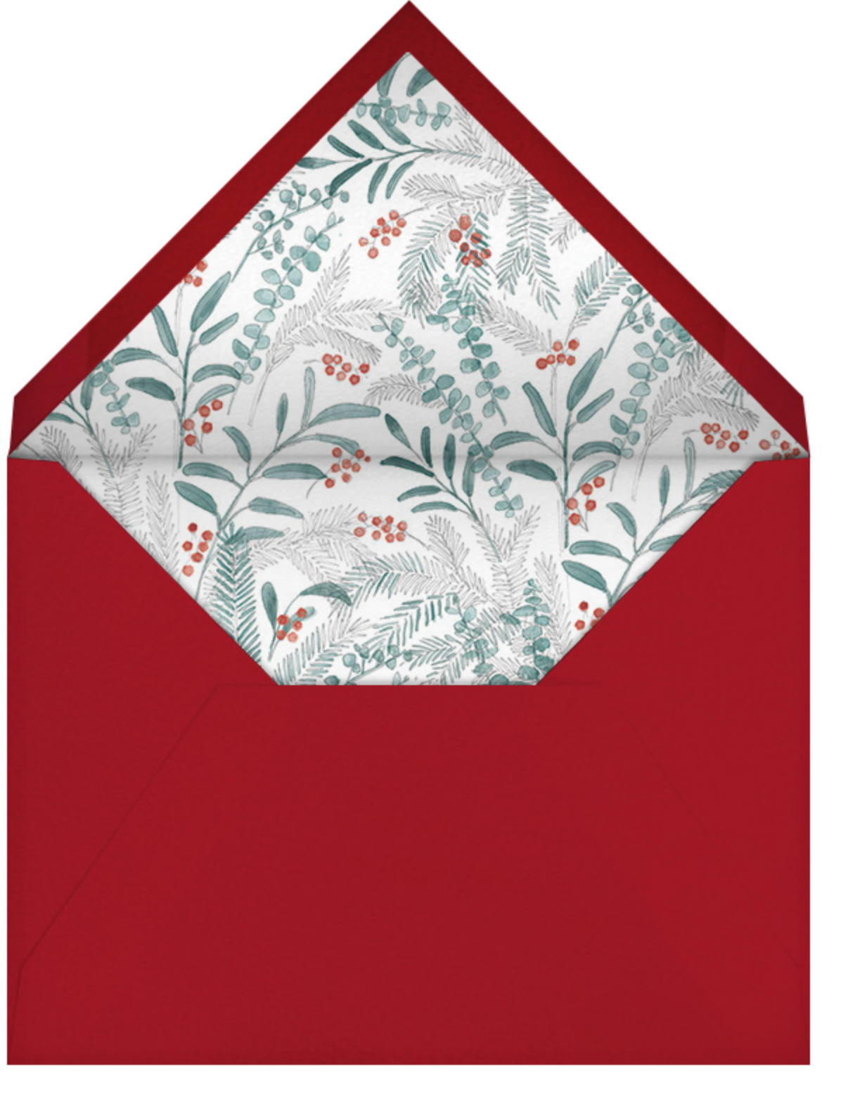 Seasonal Sprigs - Paperless Post - Winter parties - envelope back