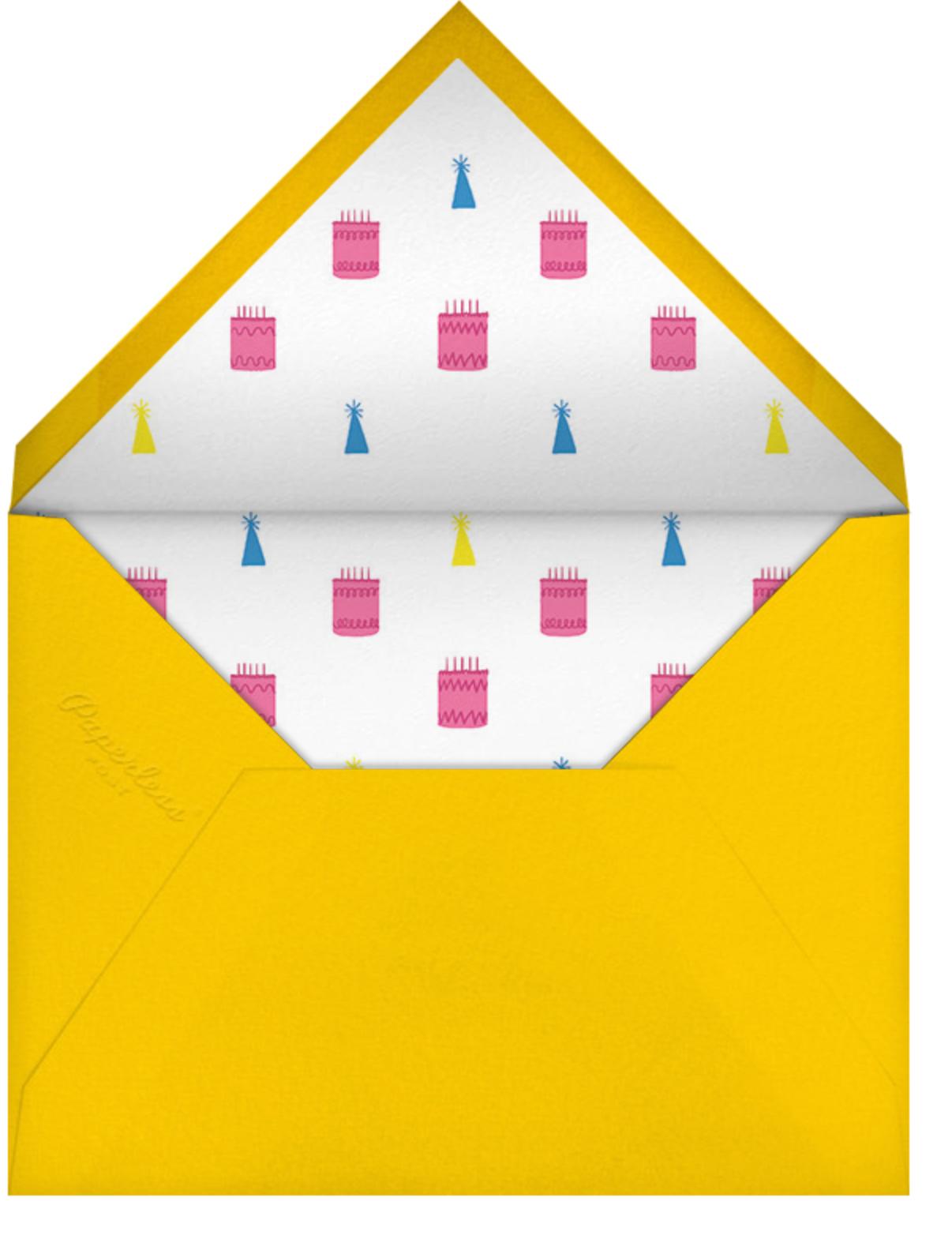 Square Centered - Citrus - Paperless Post - Adult birthday - envelope back