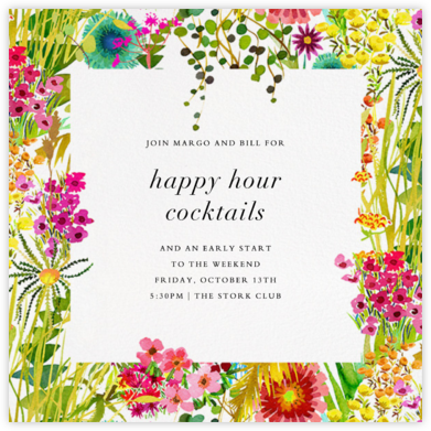 Tresco (Invitation) - Liberty - Happy Hour Invitations