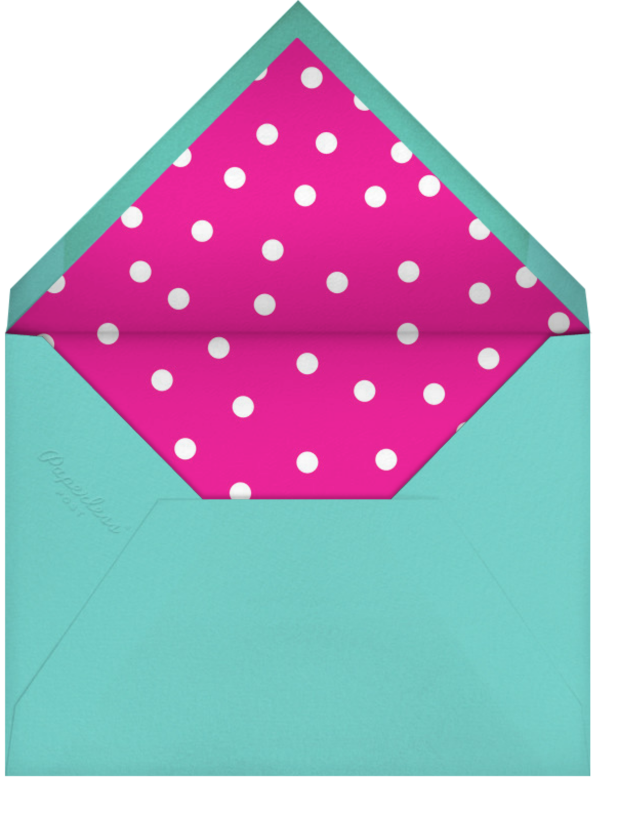 Carnaby - Multi - Paperless Post - Happy hour - envelope back