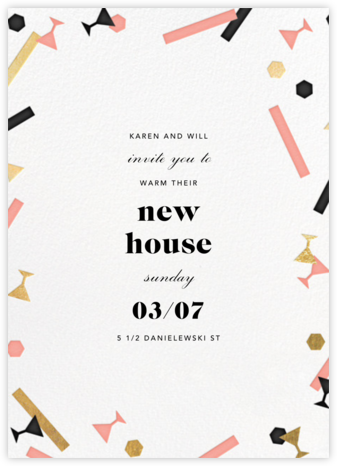 Confettitini - Paperless Post - Housewarming party invitations