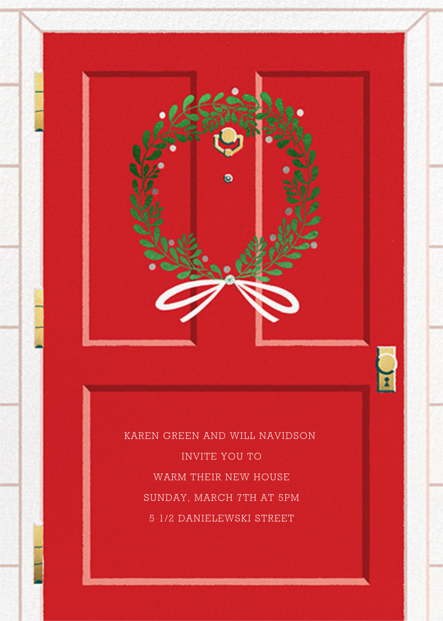 Home for the Holidays - Paperless Post - Celebration invitations