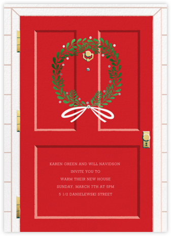 Home for the Holidays - Paperless Post - Housewarming party invitations