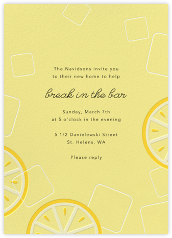Lemonade - Paperless Post - Celebration invitations