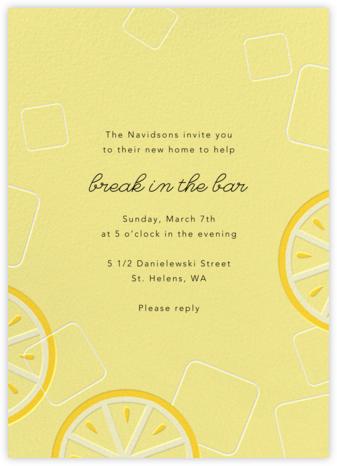 Lemonade - Paperless Post - Housewarming party invitations