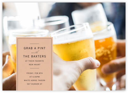 Tab - Paperless Post - Happy hour invitations