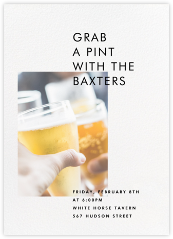 Transmission - Paperless Post - Happy Hour Invitations