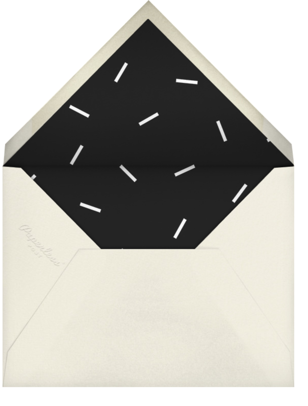 Cityscape - Paperless Post - Happy hour - envelope back