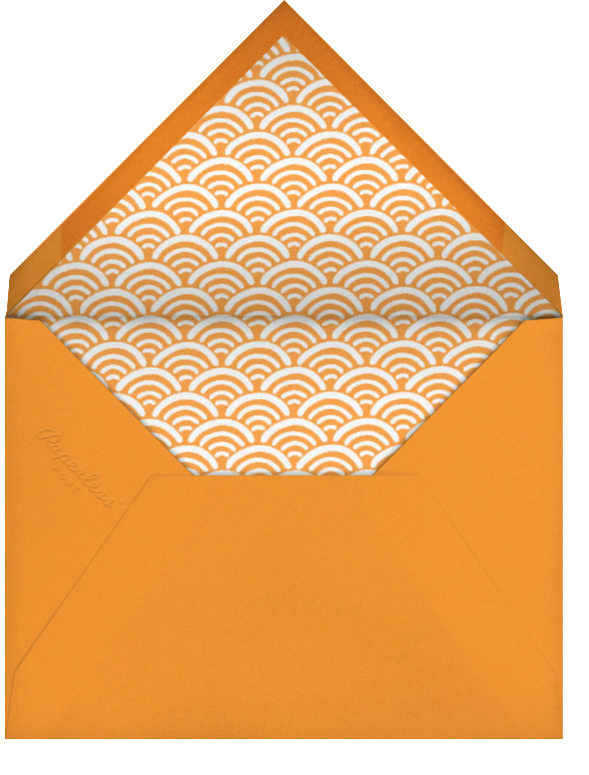 Maude's Pool - Fair - Paperless Post - Pool party - envelope back