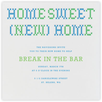Home Sweet New Home - Paperless Post - Celebration invitations