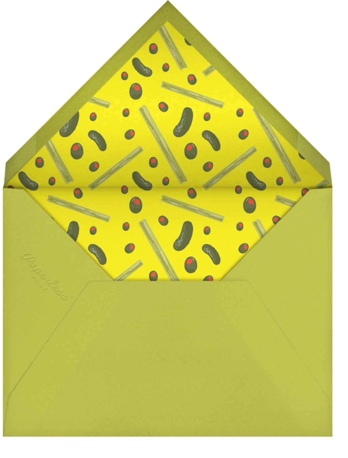 Bloody Good - Paperless Post - Adult birthday - envelope back