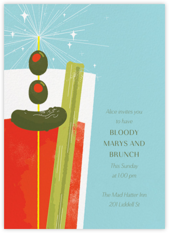 Bloody Good - Paperless Post - Brunch invitations