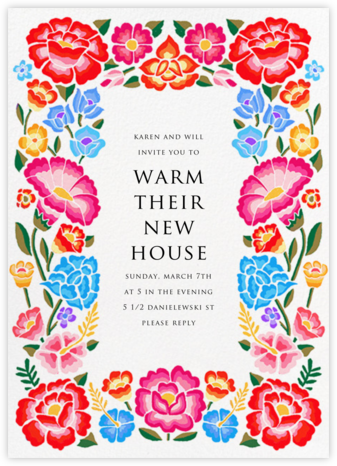 De Colores - Paperless Post - Housewarming party invitations