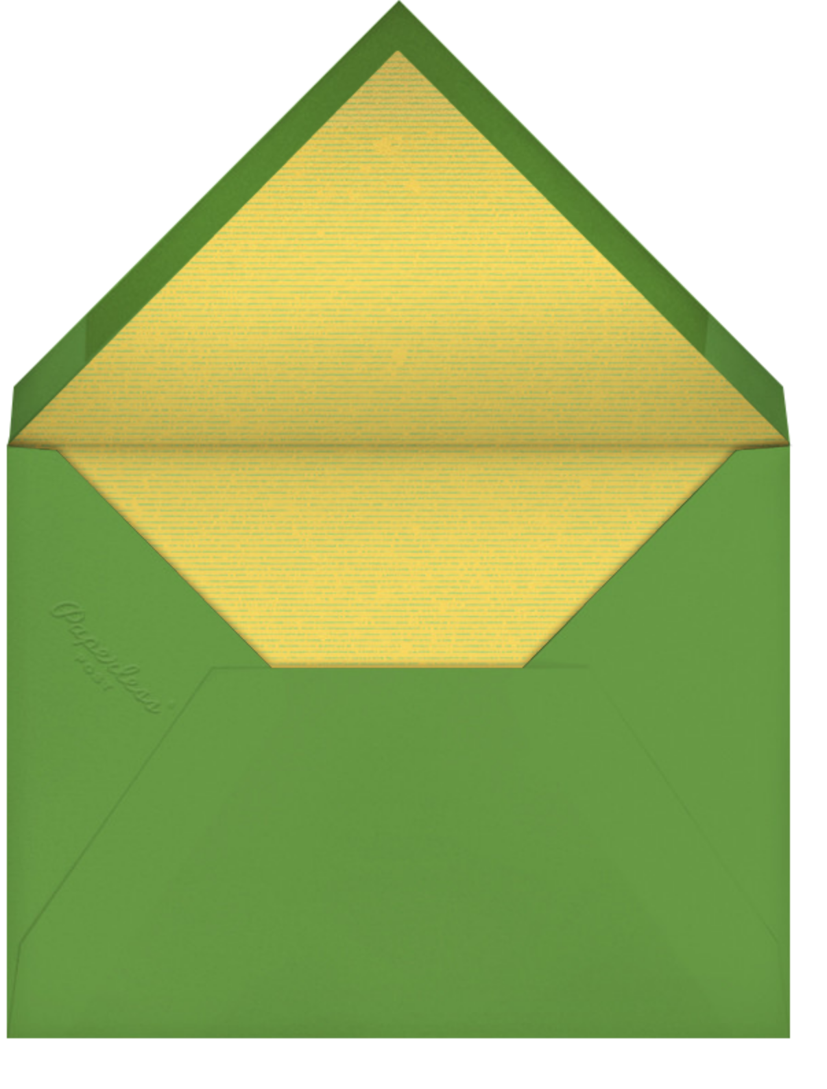 Tee Time - Paperless Post - Casual entertaining - envelope back