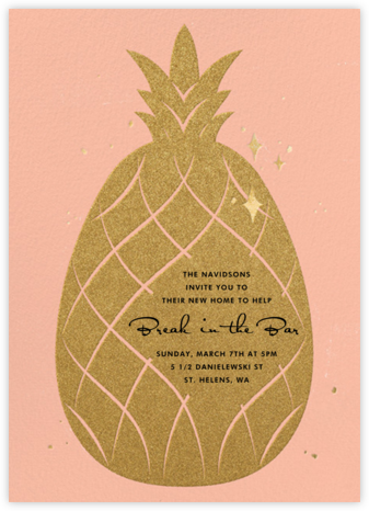 Go Ananas - Paperless Post - Housewarming party invitations