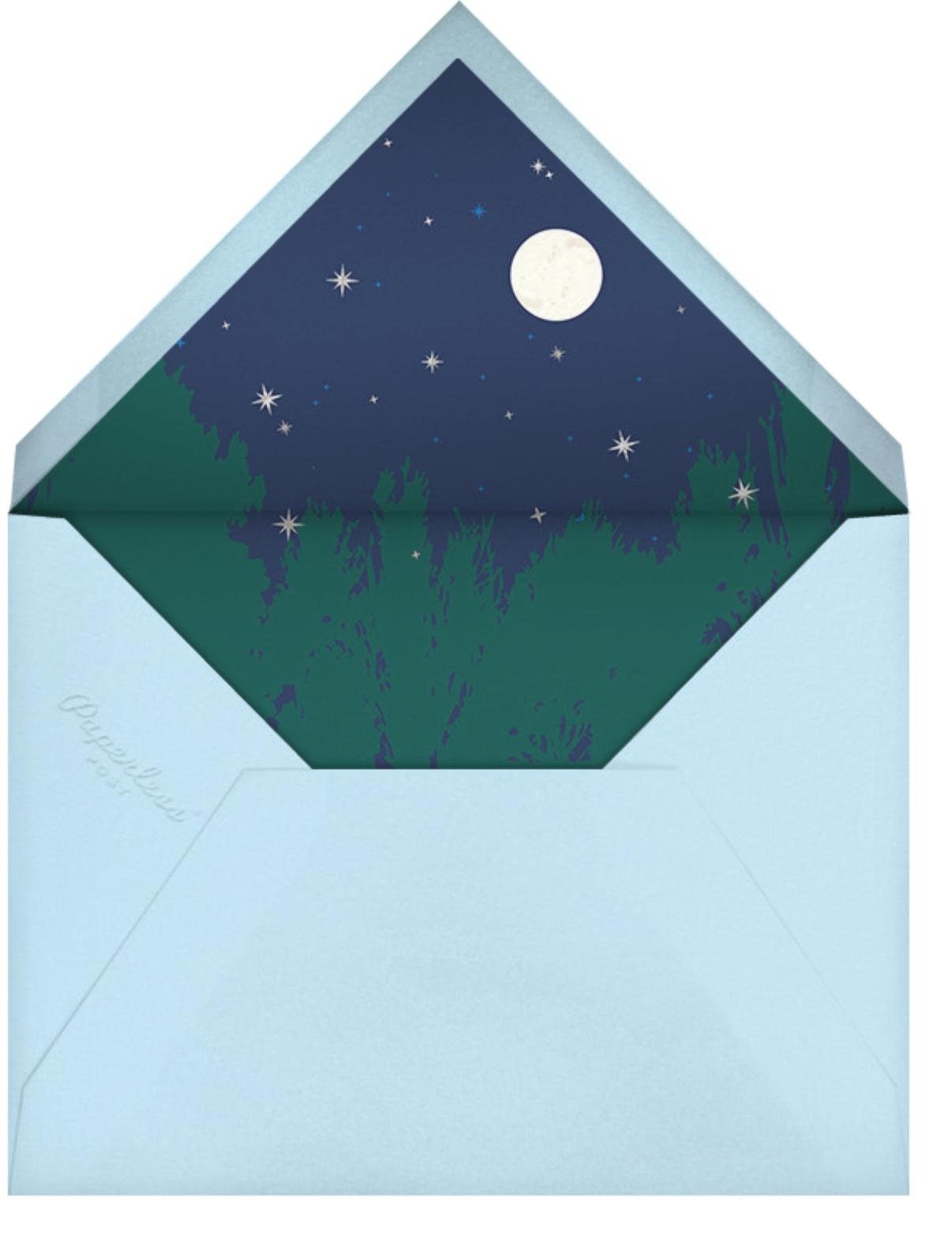 Little Dipper - Cheree Berry - Baby shower - envelope back