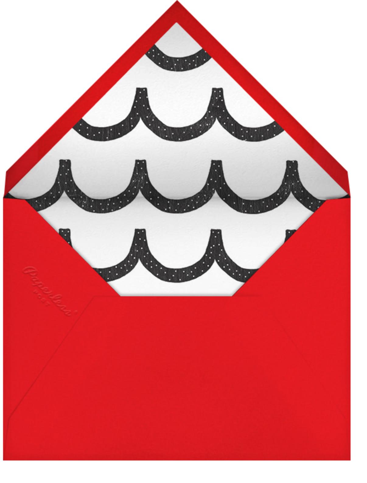 Confetti Flutter - White - Ashley G - Envelope