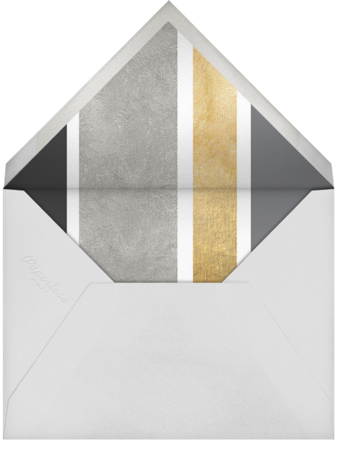 Just My Type - Metallic - Cheree Berry Paper & Design - Envelope