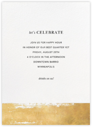 Professional party invitations and cards - online at