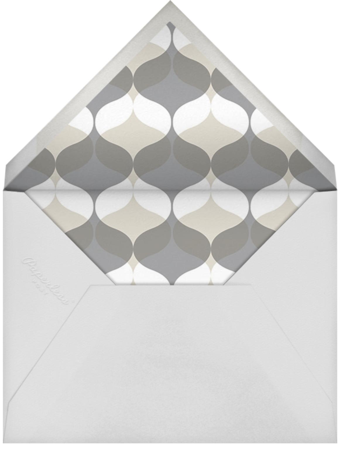 Birthday Swash - bluepoolroad - 50th birthday invitations - envelope back