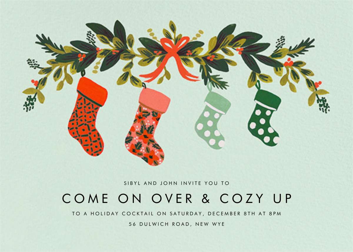 Family Stockings - Rifle Paper Co. - Rifle Paper Co.