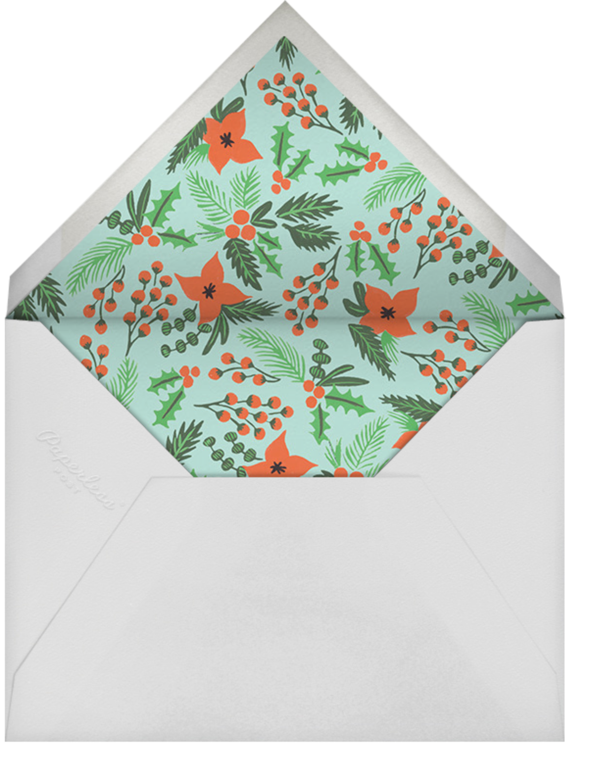 Wish You Were Here - Medium - Rifle Paper Co. - Christmas party - envelope back