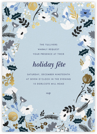 Holiday Sun - Rifle Paper Co. - Holiday invitations