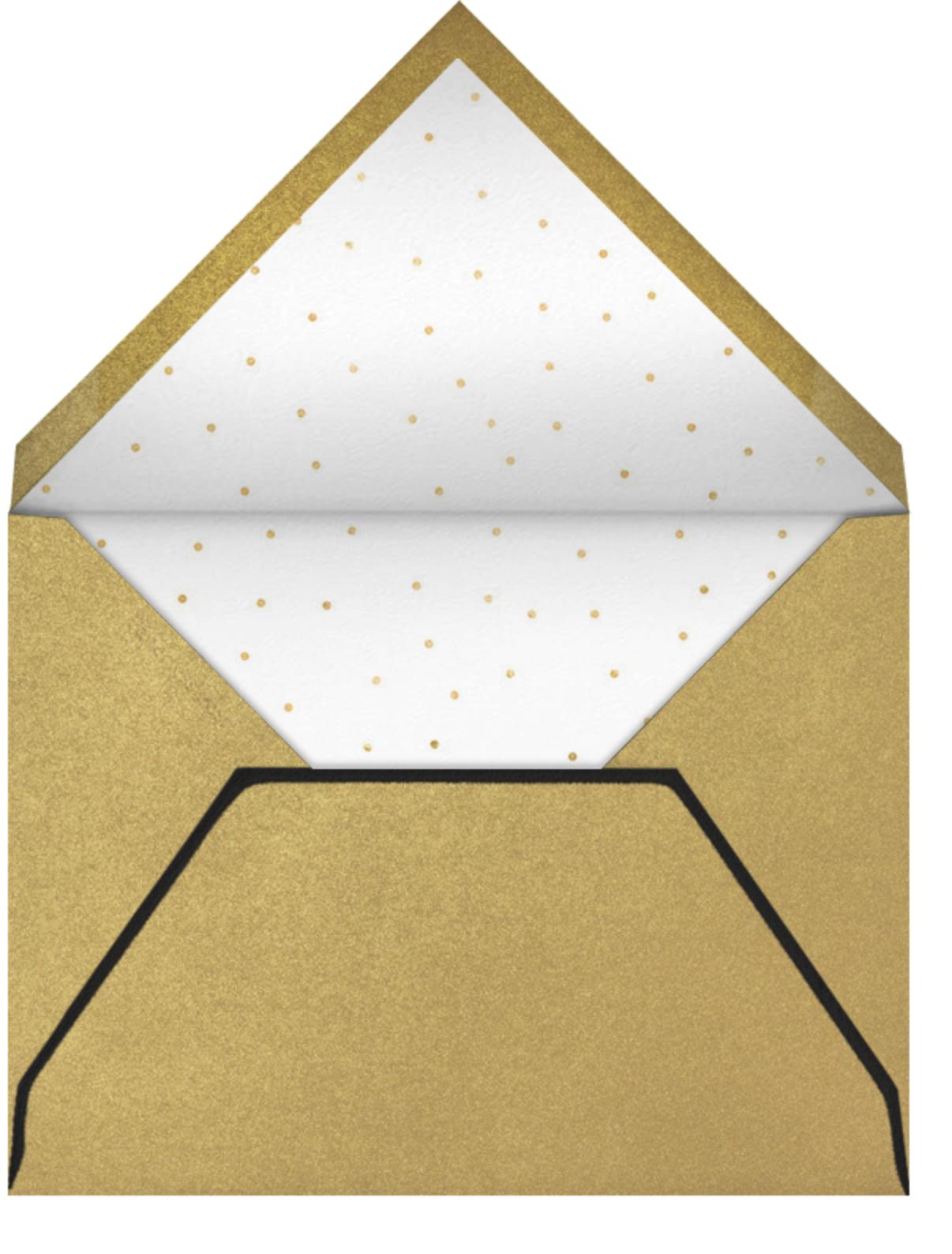 Almaviva - We're Open - Paperless Post - Professional events - envelope back