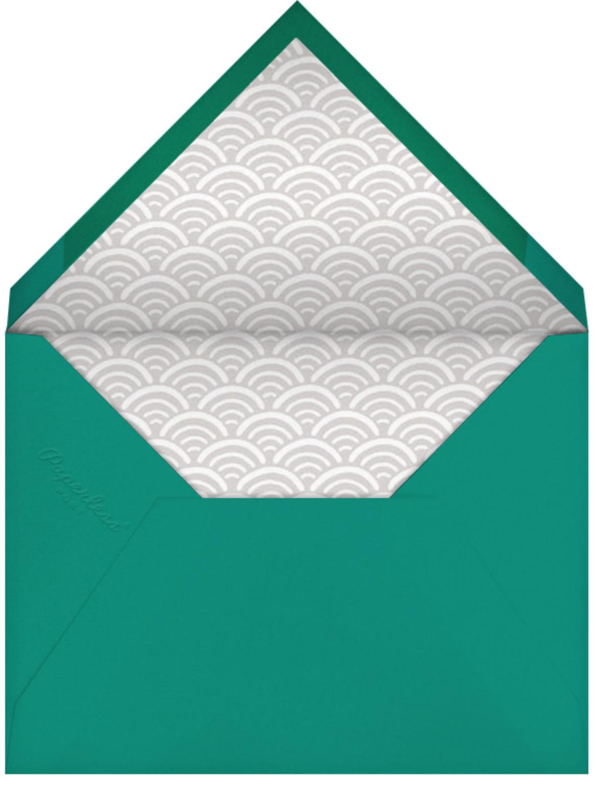 Sake - Paperless Post - Dinner party - envelope back