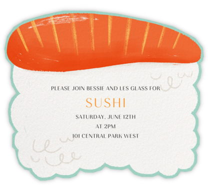 Sake - Paperless Post - Dinner Party Invitations