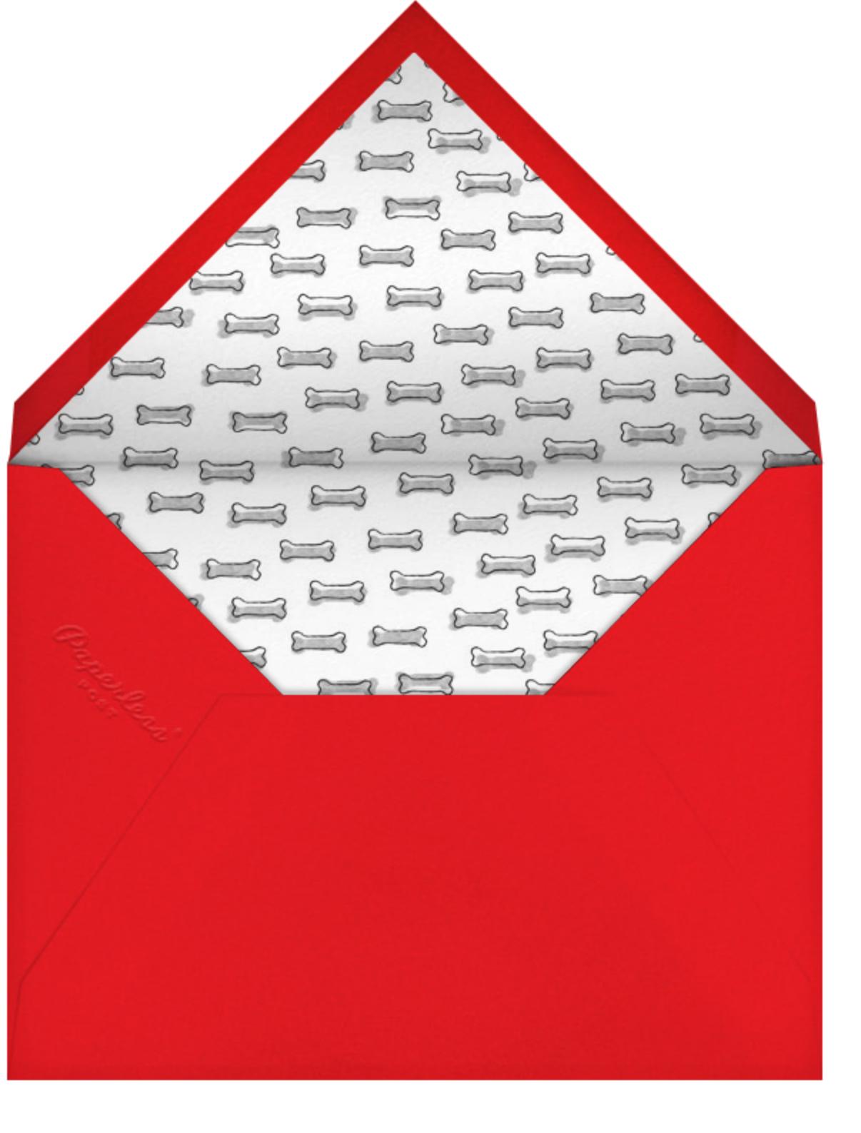 Kennel Club - Paperless Post - Kids' birthday - envelope back