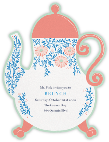 Lady Potts' Cosy - Paperless Post - Brunch invitations