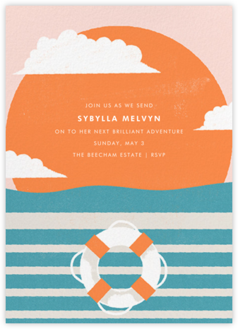 Sailor's Delight - Paperless Post - Farewell party invitations