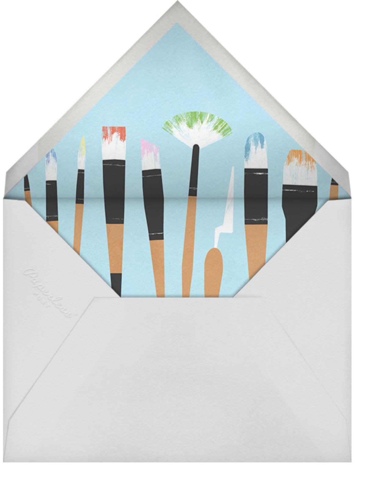 Palette Pleaser - Paperless Post - Kids' birthday - envelope back