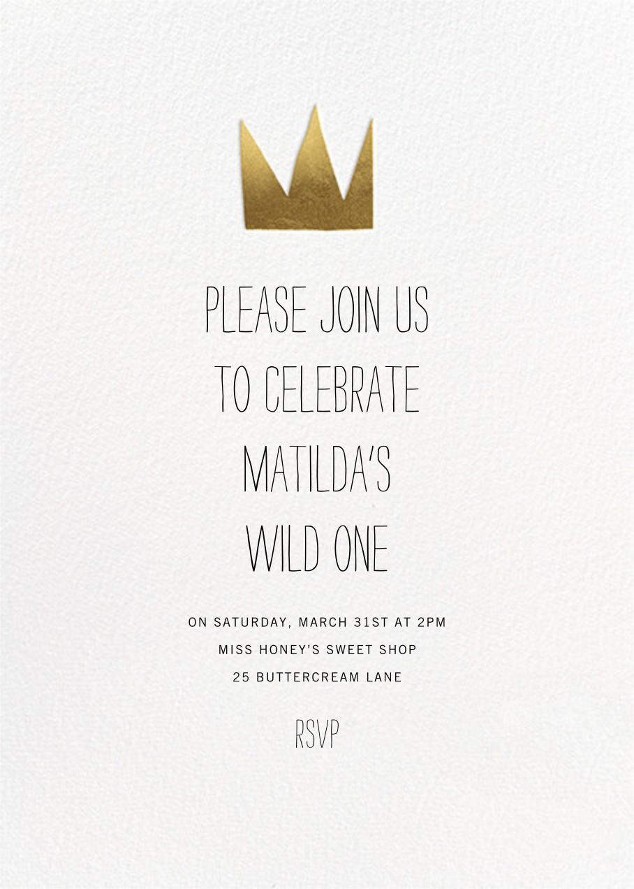 Wild Things - Paperless Post - Kids' birthday invitations