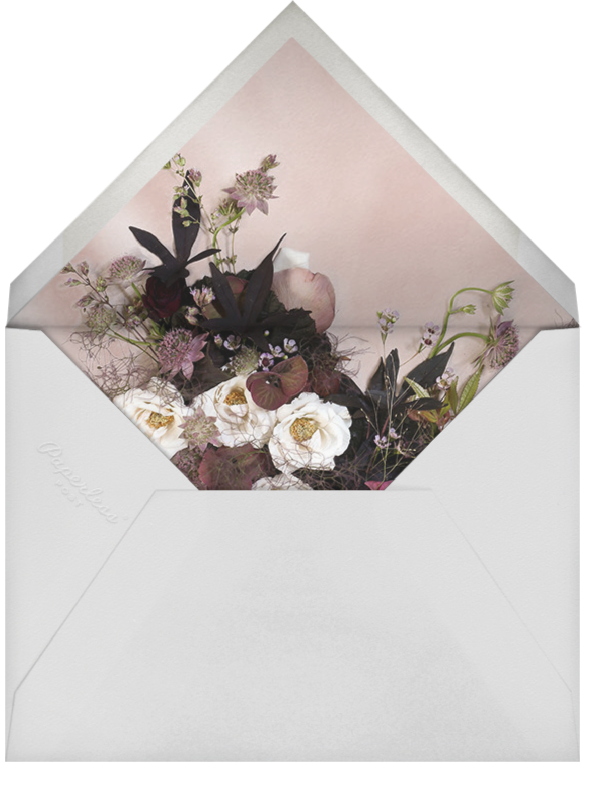 Floréal (Photo Save the Date) - Putnam & Putnam - Photo  - envelope back