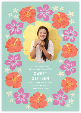 Ala Moana (Photo) - Paperless Post - Sweet 16 invitations