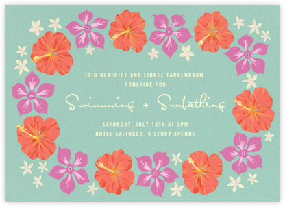 Ala Moana - Paperless Post - Pool Party Invitations
