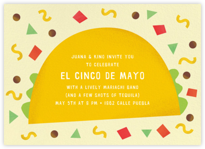 Taco Placeros - Paperless Post - Cinco de Mayo Invitations