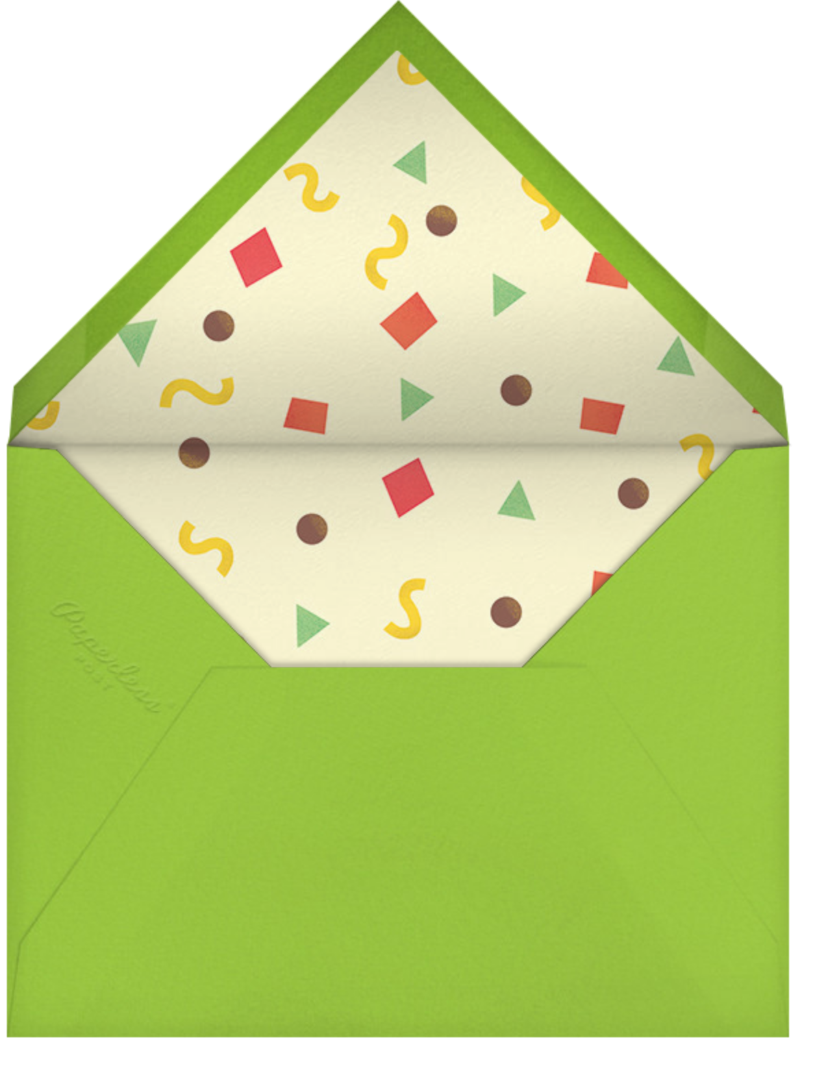 Taco Placeros - Paperless Post - Dinner party - envelope back