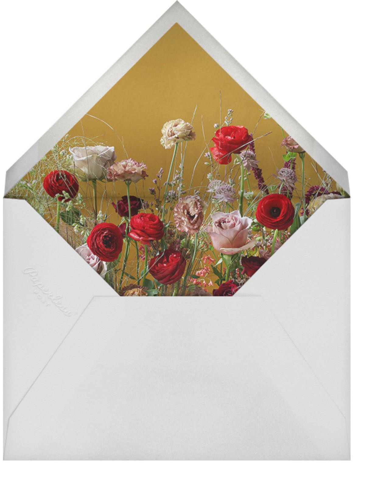 Germinal Photo (Double-Sided) - Putnam & Putnam - Bridal shower - envelope back