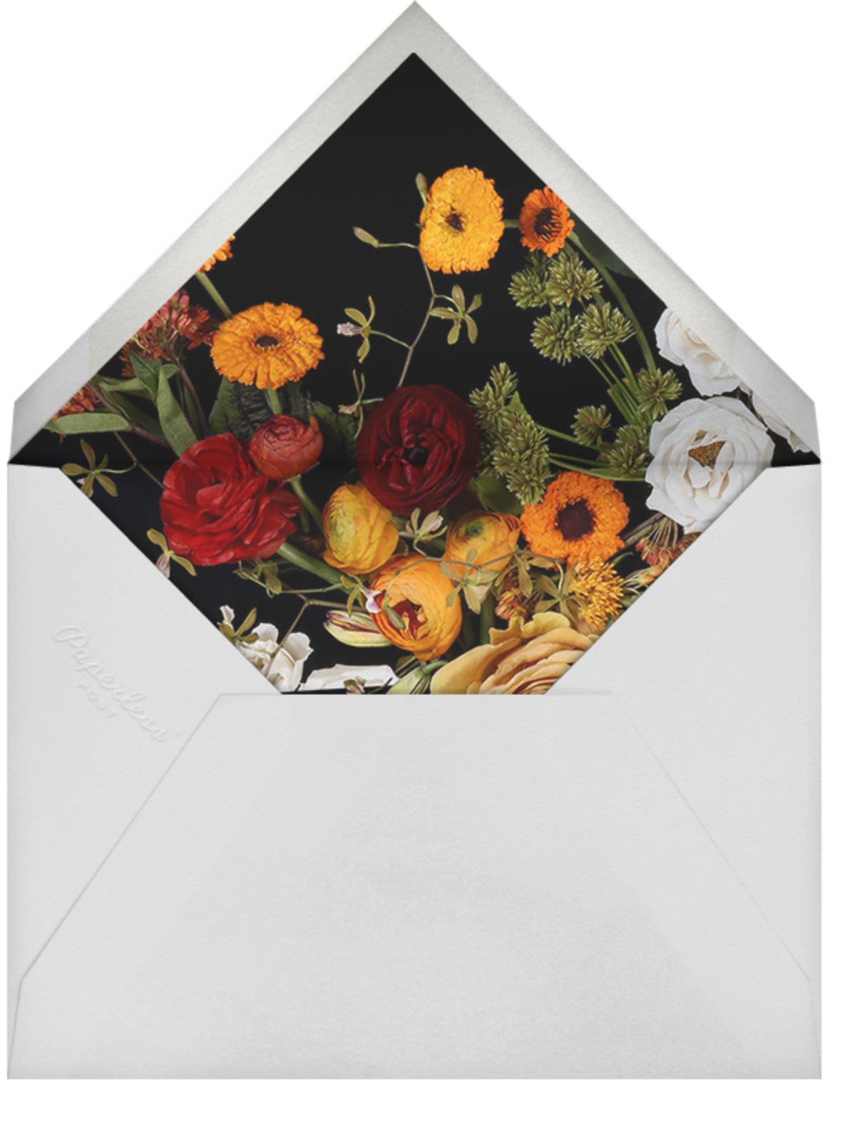 Vendémiaire (Save the Date) - Putnam & Putnam - Save the date - envelope back