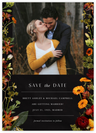 Vendémiaire (Photo Save the Date) - Putnam & Putnam - Photo save the dates