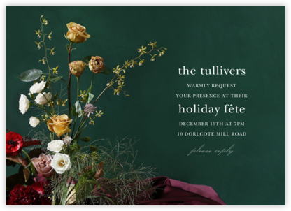 Frimaire - Putnam & Putnam - Holiday invitations