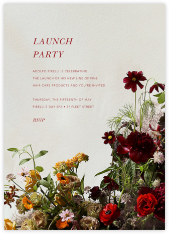 Brumaire - Putnam & Putnam - Launch and event invitations