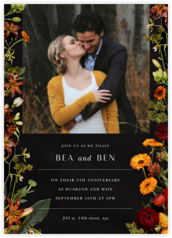 Vendemiarie (Photo Save the Date) CLONE - Putnam & Putnam - Wedding Weekend Invitations