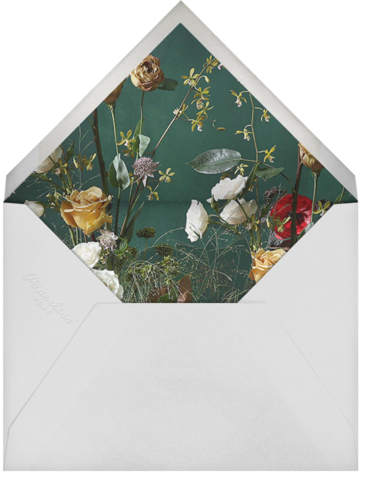 Frimaire - Putnam & Putnam - Winter entertaining - envelope back