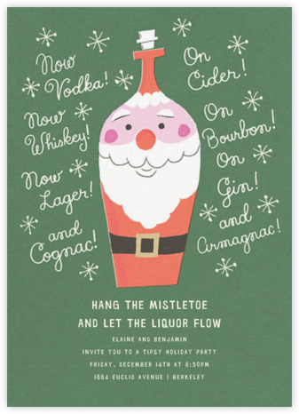 All Bottled Up - Paperless Post - Gift Exchange Invitations